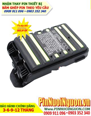 Pin máy bộ đàm iCom 264- 7.2V1400mAh, thay cells pin bộ đàm iCOM 264-7.2vAA1400mAh NiMh   Có sẳn hàng