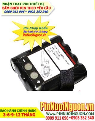 Pin máy bộ đàm 4,8V-AA700mAh NiMh-NiCd chính hãng   Hàng có sẳn