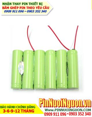 Pin máy bộ đàm-Nhận bấm khối thay pin máy bộ đàm 7,2V-2200mAh chính hãng   Bảo hành 6 tháng