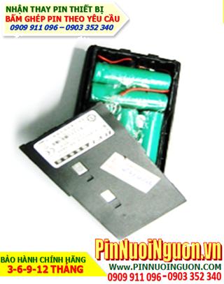 Pin máy bộ đàm - Thay cells khối Pin Máy Bộ Đàm  7.2V-AAA600mAh   Bảo hành sử dụng 06 tháng