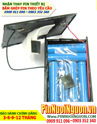 Pin máy bộ đàm, Thay cells đóng khối pin máy bộ đàm 7.2V-AAA600mAh   Bảo hành sử dụng 06 tháng