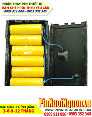 Nhận đóng khối Pin máy bộ đàm 7.2V - Pin chính hãng - Bảo hành sử dụng 6 tháng   hàng có sẳn