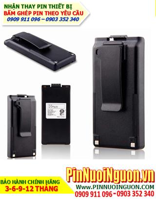 Icom 9.6V-1700mAh; Nhận bấm ghép và Thay pin máy bộ đàm Icom NiMh 9.6v 1700mAh