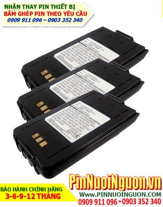 Icom 9.6v 700mAh; Nhận bấm ghép và Thay pin máy bộ đàm Icom NiMh 9.6v 700mAh