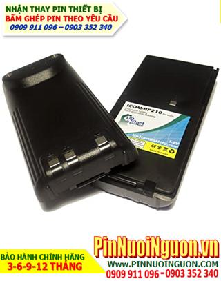 Pin máy bộ đàm Icom 7.2V-2500mAh, thay cells pin/ hàng có sẳn-bảo hành 03 tháng