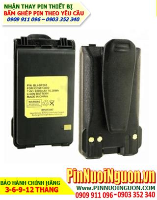 Pin máy bộ đàm Icom 7.4V-2200mAh, thay cells pin/ hàng có sẳn - bảo hành 03 tháng