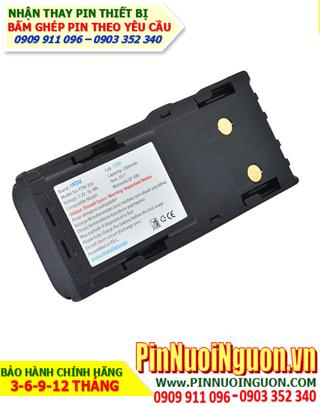 Pin máy bộ đàm Motorola 7.4V-1700mAh, thay cells pin/ hàng có sẳn-bảo hành 03 tháng