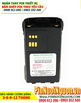 Pin máy bộ đàm Motorola 7.2V-2100mAh, thay cells pin/ hàng có sẳn - bảo hành 03 tháng
