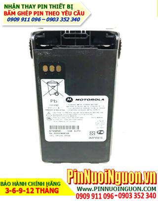 Pin máy bộ đàm Motorola 6V-2100mAh, thay cells pin/ hàng có sẳn - bảo hành 03 tháng