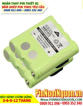 Pin máy bộ đàm Motorola 4.8V-1500mAh, thay cells pin/ hàng có sẳn - bảo hành 03 tháng