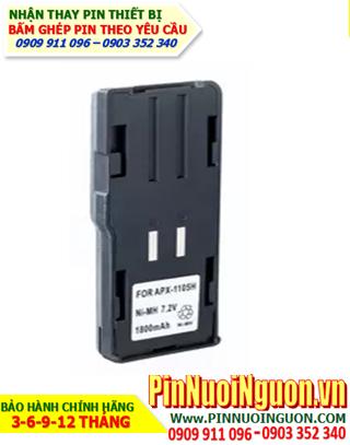 Pin máy bộ đàm Uniden 7.2V-1200mAh, thay cells pin/ hàng có sẳn - bảo hành 4 tháng