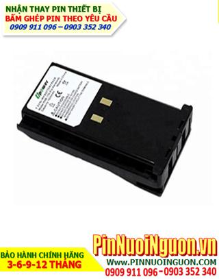 Pin máy bộ đàm Kenwood 7.2V-1500mAh, thay cells pin/ hàng có sẳn - bảo hành 04 tháng