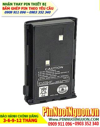 Pin máy bộ đàm Kenwood 7.2V-1200mAh, thay cells pin/ hàng có sẳn