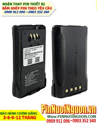 Pin máy bộ đàm Kenwood 7.2V-2600mAh, thay cells pin/ hàng có sẳn - bảo hành 03 tháng