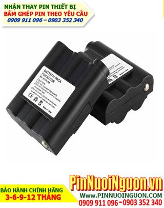 Pin máy bộ đàm Midland BATT-5R, 700mAh - 6.0v- Thay cell pin máy bộ đàm Midland 6.0v-700mAh   hàng có sẳn