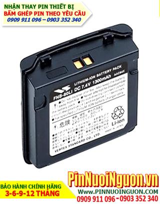 Pin máy bộ đàm Yaesu 7.4V-1300mAh, thay cells pin/ hàng có sẳn - bảo hành 03 tháng