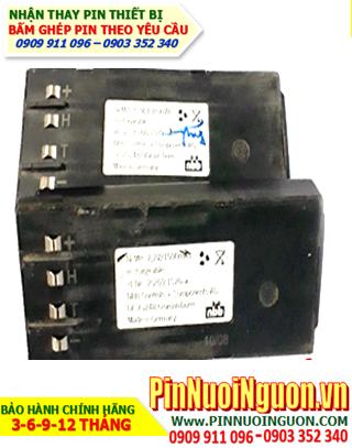 Pin máy bộ đàm NPP CONTROLS DE-72548, 7.2v-1500mAh, Thay CELLS pin NiMh chính hãng| Còn hàng-Bảo hành 6 tháng
