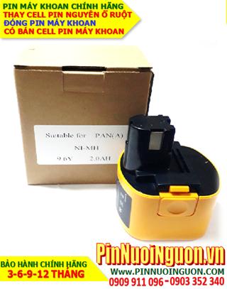 Pin máy khoan PANASONIC-A 9.6V-2.0AH (2000mAh) Pin sạc NIMH, NGUYÊN KHỐI VỎ HỘP| Bảo hành 6 tháng-HÀNG CÓ SẲN