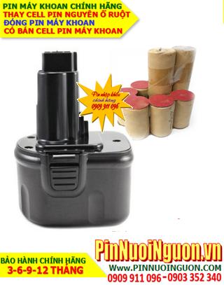 Pin máy khoan BOSCH 9.6v-2.0AH (NiMh 9.6v-2000mAh)-Thay PIN máy khoan BOSCH 9.6v-2.0AH (Bảo hành 6 tháng)