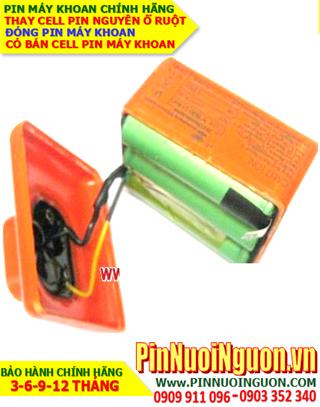 Pin sạc Lithium 10.8v-6800mAh _Pin máy khoan tay 10.8v-6800mAh _Thay cell pin máy khoan lithium 10.8v-6800mAh