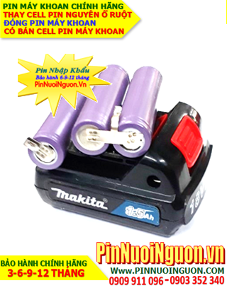 Pin máy khoan Makita Makita 12v-1.5AH; Thay ruột Mới PIn máy khoan Makita 12v-1.5AH | CÒN HÀNG