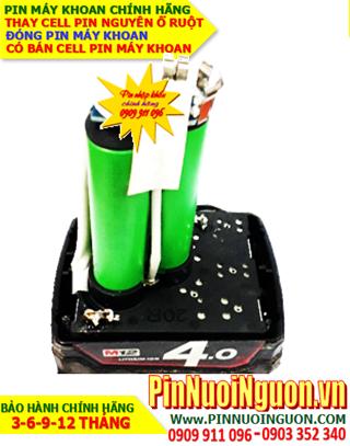 Pin máy khoan cầm tay 12v MH12-4000mAh (4.0AH) Lithium Li-Ion | HÀNG CÓ SẲN-Bảo hành 3 tháng
