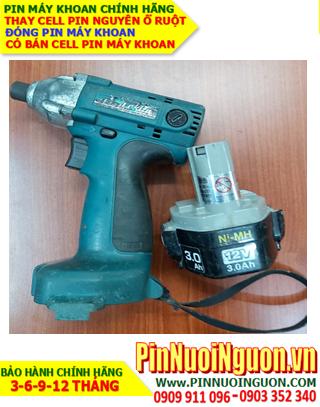 Pin sạc NiMh 12v 3000mAh _Pin máy khoan Makita 12v 3.0AH (3000mAh) _Thay Cell pin máy khoan Makita 12v 3000mAh