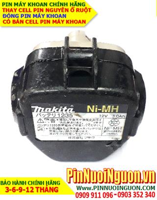 Pin sạc NiMh 12v 3000mAh _Pin máy khoan Makita Makita 1235 (12v 3000mAh) _Thay CELL pin máy khoan Makita 1235 (12v 3000mAh)