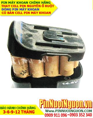 Pin máy khoan cầm tay 14.4V-2.0AH (NiMh 14.4v-2000mAh)-Thay pin máy khoan 14.4V-2.0AH | Có sẳn hàng-Bảo hành 6 tháng