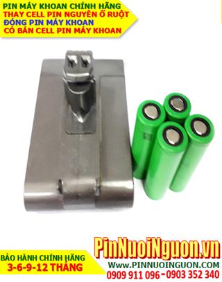 Pin máy khoan Dyson 14.8v 2600mAh Lithium sạc-Thay ruột pin máy khoan Dyson| ĐANG CÒN HÀNG