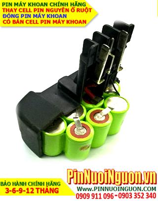 Pin máy khoan 14.4v-SC2000mAh NiMh, Pin sạc máy khoan 14.4v-SC2000mAh chính hãng| Bảo hành 6 tháng-Hàng có sẳn