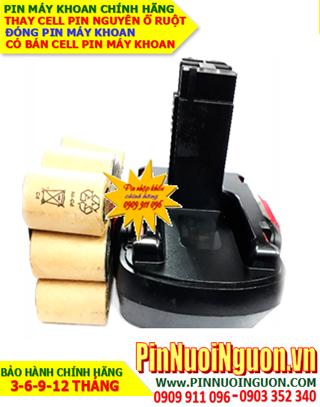 Pin máy khoan BOSCH 18v-2.0AH (NiMh 18v-2000mAh)-Thay PIN máy khoan BOSCH 18v-2.0AH (Bảo hành 6 tháng)