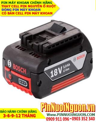 Pin Máy Khoan Bosch 18v 3000mAh Li-Ion, Thay Cells Pin Máy Khoan Bosch 18v 3000mAh chính hãng | Bảo hành 6 tháng
