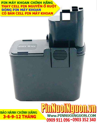 Pin Máy Khoan Bosch 9,6v 1400mAh - Thay cells Pin Máy Khoan Bosch 9,6v 1400mAh chính hãng | Bảo hành 6 tháng - hàng có sẳn