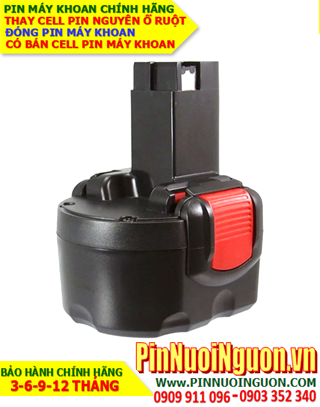 Pin máy khoan Bosch 7.2V-2000mAh, Thay cells pin / hàng có sẳn-bảo hành 06 tháng
