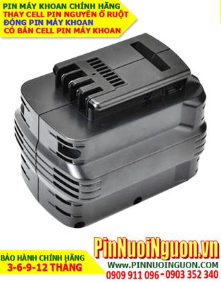 Pin máy khoan Dewalt 24V-2100mAh, thay cells pin / hàng có sẳn-Bảo hành 06 tháng