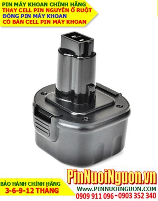 Pin máy khoan Dewalt 2100mAh-9.6V, thay cells pin / hàng có sẳn-bảo hành 06 tháng