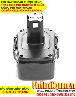 Pin máy khoan Craftsman 9.6V-2200mAh, thay cells pin / hàng có sẳn-bảo hành 06 tháng