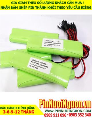 Pin sạc 4.8v AA600mAh; Pin sạc NiMh NiCd 4.8v AA600mAh; Pin sạc khối 4.8v AA600mAh; Pin sạc công nghiệp 4.8v AA600mAh