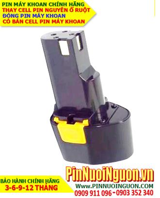 Pin máy khoan Milwaukee 9.6V-2000mAh, thay cells pin / hàng có sẳn - bảo hành 06 tháng