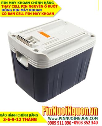 Pin Máy khoan Makita B2430-24V-3.0AH (3000mAh) -Thay cell pin máy khoan Makita B2430 - 24V-3000mAh | bảo hành 6 tháng-Có sẳn hàng