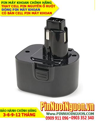 Pin máy khoan Black & Decker, thay cells pin/ hàng có sẳn - bảo hành 06 tháng