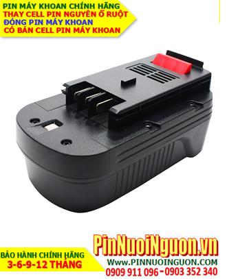 Pin máy khoan Black & Decker 3000mAh-18V, thay cells pin  / hàng có sẳn - bảo hành 06 tháng