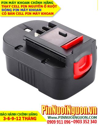 Pin máy khoan Black & Decker 14.4V-2000mAh, thay cells pin  / hàng có sẳn - bảo hành 06 tháng