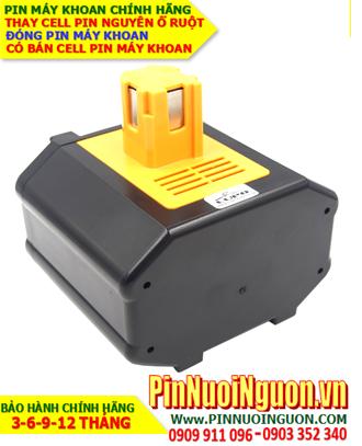 Pin máy khoan Panasonic 24V-3300mAh, thay cells pin/hàng có sẳn - bảo hành 06 tháng
