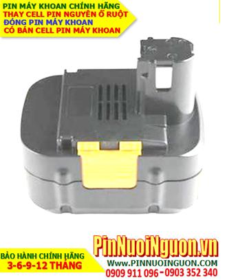 Pin máy khoan Panasonic 15.6V-2000mAh, thay cells pin/ hàng có sẳn-bảo hành 06 tháng