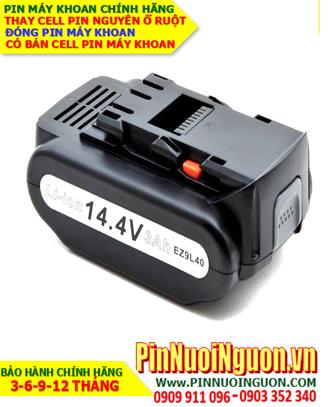Pin máy khoan Panasonic 14.4V-3000mAh, thay cells pin / hàng có sẳn - bảo hành 06 tháng
