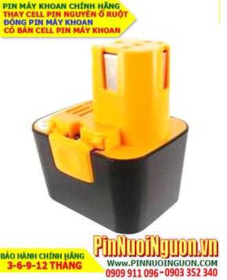 Pin máy khoan Panasonic 7.2v-3000mAh, thay cells pin/ hàng có sẳn - bảo hành 06 tháng