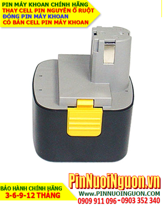Pin máy khoan National 12V-3000mAh, thay cells pin/ hàng có sẳn - bảo hành 06 tháng