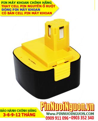 Pin sạc 12v 2500mAh; Pin máy khoan National 12v 2500mAh _Thay CELL pin máy khoan National 12v 2500mAh